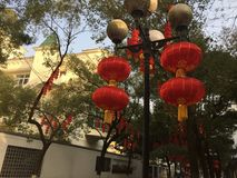 Red Lantern. S, Chinese traditional holiday items. Every major festival, the occasion of celebration, the majestic Tiananmen Square, many towns across the Stock Image