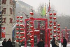 Red lantern stock photography