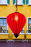 Red lantern to celebrate. The New Year Stock Photos