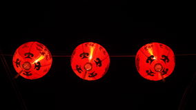 Red lantern in traditional Chinese new year Stock Images