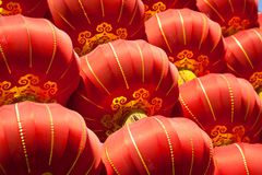 Red lanterns Royalty Free Stock Image