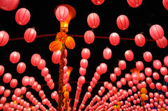 Red lanterns Stock Photo