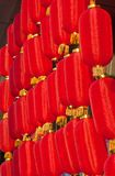 Red lanterns Stock Images