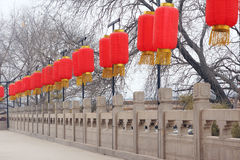 Red lanterns Stock Photos