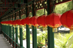Red Lanterns, Beijing Royalty Free Stock Photo
