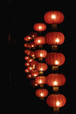 Red lanterns of china Royalty Free Stock Photography