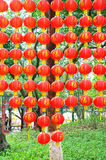Red lanterns Royalty Free Stock Image