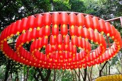 Red lanterns Royalty Free Stock Photos