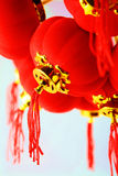 Red lanterns decoration Royalty Free Stock Photos