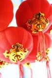 Red lanterns decoration Stock Image