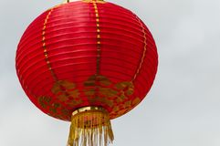 Red lanterns Hanging Decoration. Red Lanterns symbolizing Chinese New Year Royalty Free Stock Photos