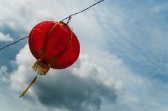 Red lanterns Hanging Decoration. Red Lanterns symbolizing Chinese New Year Stock Photography