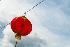 Red lanterns Hanging Decoration Royalty Free Stock Photo