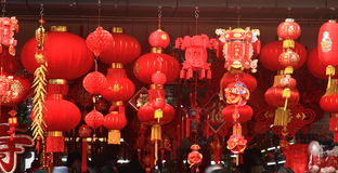 Red lanterns Stock Photography