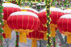 Red lanterns Royalty Free Stock Images