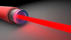 Red laser Royalty Free Stock Image