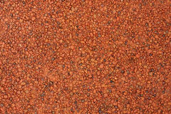 Red laterite gravel for background Royalty Free Stock Photography