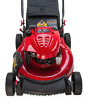 Red Lawn Mower Stock Images