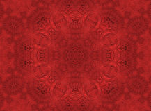Red leaf abstract pattern Stock Images