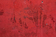 Red leaking stone texture Royalty Free Stock Images