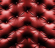 Red leather Stock Image