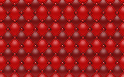 Red Leather Abstract Background Design Stock Photography