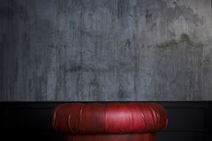 Red Leather Armchair Royalty Free Stock Image