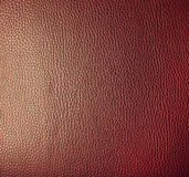 Red leather. Stock Images