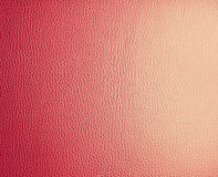 Red leather. Royalty Free Stock Images