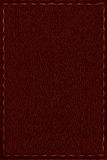 Red leather background Royalty Free Stock Image