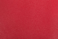 Red leather background Stock Photos