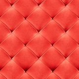 Red leather background. Red genuine leather upholstery background. Luxury pattern Royalty Free Stock Photos