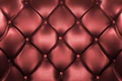 Red leather background Stock Photography