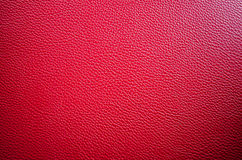 Red Leather Background Royalty Free Stock Photography