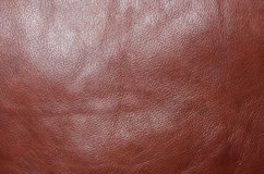 Brown leather texture background Royalty Free Stock Image