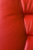 Red leather chair Royalty Free Stock Photos