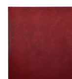 Red leather cover of the book Royalty Free Stock Photo