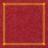 Red leather cover Royalty Free Stock Images