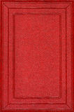 Red leather cover. Red old leather book cover Royalty Free Stock Photos