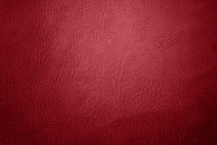 Red leather. Ideal for  christmas background Royalty Free Stock Image