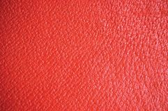 Red Leather Natural Texture Background Stock Photos