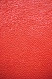Red Leather Natural Texture Background, Vertical Royalty Free Stock Image