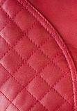 Red leather pattern Royalty Free Stock Photos