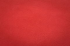 Red leather surface Royalty Free Stock Photo