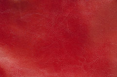 Red leather texture. Natural qualitative red leather texture royalty free stock image