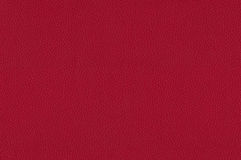 Red leather texture as background Stock Image
