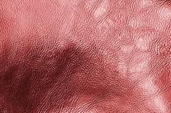 Red leather texture. Background with red leather Royalty Free Stock Image