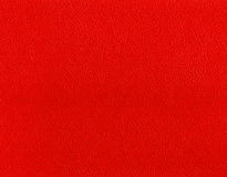 Red leather texture. Background and texture for design Royalty Free Stock Image