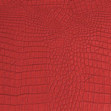 Red Leather texture and background Stock Image