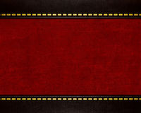 Red leather texture background Royalty Free Stock Photography
